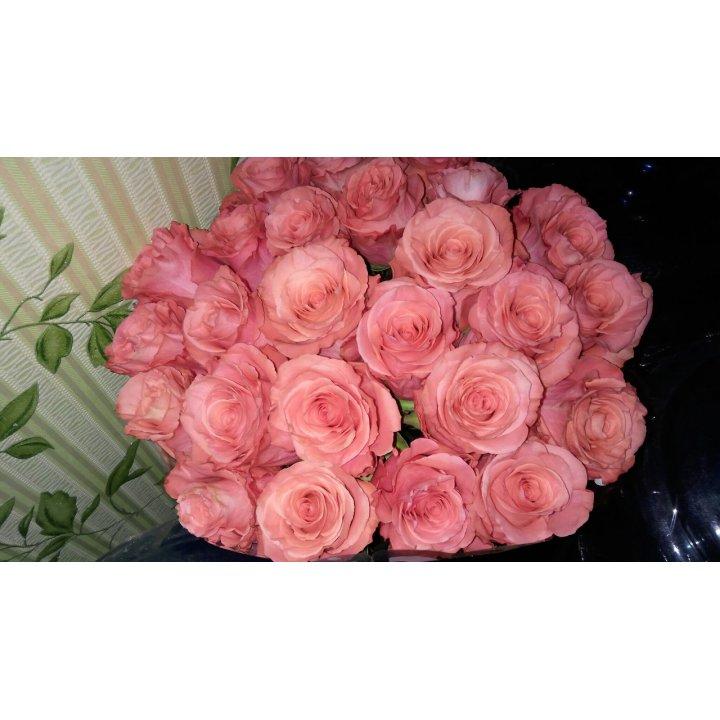 Букет 25 роз Амстердам