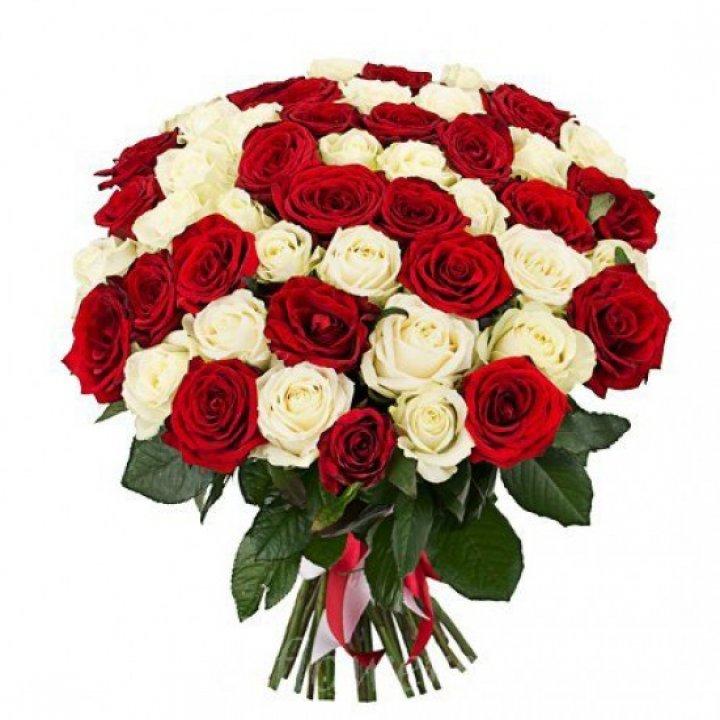 Букет 51 роза России