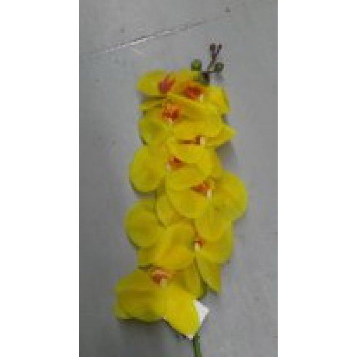 Орхидея Фаленопсис искусственная желтая