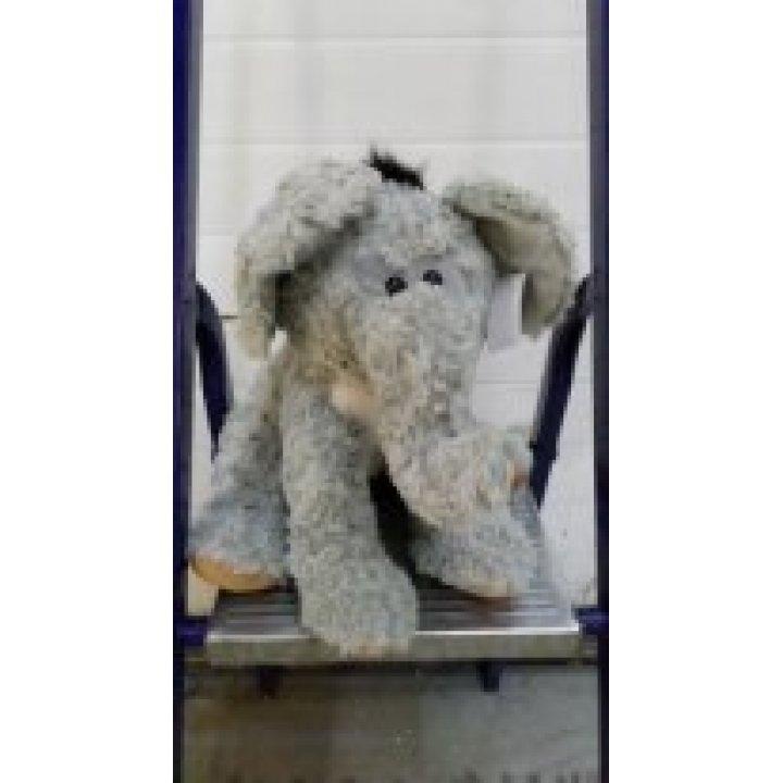 Мягкая игрушка Слоник серый маленький