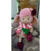 Мягкая игрушка Свинка с елочкой