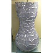 Керамическая напольная ваза Чешуйки