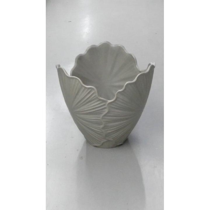 Керамическая ваза малая Веер